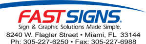Fast Signs, Sign Company Doral