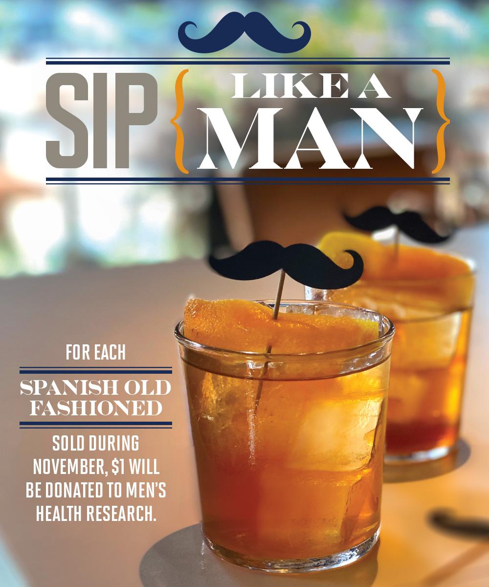 Pisco y Nazca Doral Sip for Men's Health Month! A Taste of Doral Participating Restaurant.