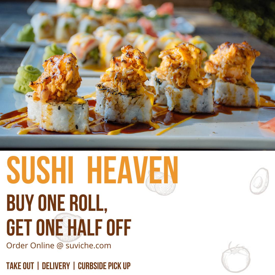 Best Sushi Restaurant , Taste of Doral , Suviche.