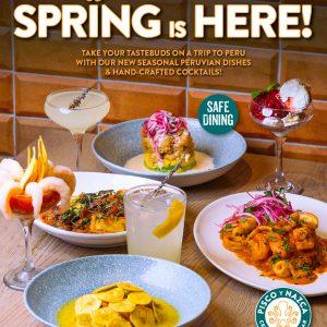Spring is Here Pisco y Nazca Taste of Doral.